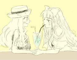 1boy 1girl crossdressing hetero pokemon satoko_(pokemon) satoshi_(pokemon) serena_(pokemon) trap