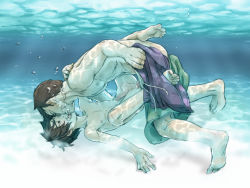 2boys age_difference anal big_hero_6 brothers erection family hiro_hamada incest kiss male_focus multiple_boys nude penis sex shota siblings size_difference tadashi_hamada undressing water yaoi