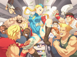 4girls 6+boys :d ;) ^_^ ahoge airplane antenna_hair arm_behind_back balrog bandanna beard black_hair blonde_hair blue_eyes blush boots bow braid breasts brown_eyes brown_hair cammy_white can cart ceiling chun-li condom condom_in_mouth condom_wrapper dark_skin dee_jay dog_tags dougi drink dudley erect_nipples erotibot everyone eyes_closed facial_hair fingerless_gloves floating_hair garrison_cap gloves grin guile hair_bow hand_on_another's_face hat headband highleg highleg_leotard holding ibuki_(street_fighter) jewelry kanzuki_karin kasugano_sakura ken_masters knee_boots knee_up leotard lightning_bolt long_hair looking_at_another mask mask_removed mohawk money mouth_hold multiple_boys multiple_girls muscle mustache naughty_face necklace necktie one_eye_closed open_mouth orange_hair partially_visible_vulva prostitution pushing ringlets ryuu_(street_fighter) sack scar short_hair sitting sleeveless small_breasts smile soda solo_focus spread_legs street_fighter street_fighter_iii street_fighter_zero tank_top tattoo torn_clothes turtleneck twin_braids vambraces vega very_long_hair wince zangief
