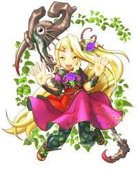 blonde_hair dress kid_icarus nintendo tagme tanukino viridi yellow_eyes