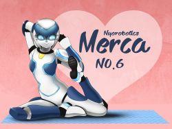 1girl no.6490 original robot solo yoga