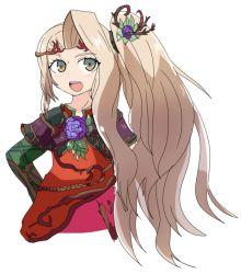 blonde_hair flower hair_ornament kid_icarus long_hair nintendo tagme viridi