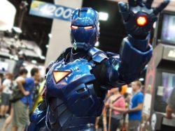 1boy andrew_makes_things armor cosplay helmet iron_man marvel photo power_armor power_suit solo_focus