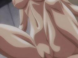 animated animated_gif blue_hair bouncing_breasts breasts cowgirl_position discipline erect_nipples eyes_closed futa_with_female futanari girl_on_top itou_kaoru large_breasts moaning navel nipples otokawa_saori sex straddling uncensored vaginal