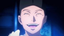 animated animated_gif black_hair hat laughing male_focus oda_nobuna_no_yabou zenki