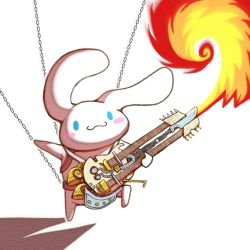 fire flamethrower guitar mad_mad mad_max:_fury_road no_humans parody smile