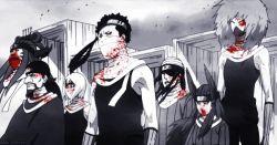 akebino_jinin animated animated_gif blood headband hoozuki_mangetsu hoshigaki_kisame kuriarare_kushimaru male mask momochi_zabuza multiple_boys munashi_jinpachi naruto naruto_shippuuden ringo_ameyuri