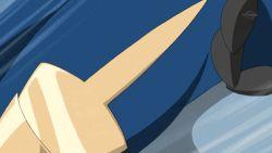 animated animated_gif dual_wielding escavalier pokemon samurott tagme