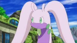 animated animated_gif doors goodra lotad no_humans pokemon pokemon_(anime) pokemon_xy windows