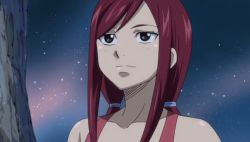 /\/\/\ 2girls animated animated_gif ass blonde_hair breasts dissolving_clothes erza_scarlet fairy_tail large_breasts long_hair lucy_heartfilia multiple_girls nude outside red_hair twintails wardrobe_malfunction