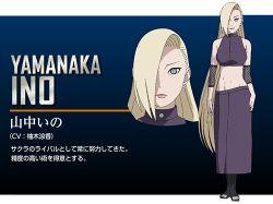 naruto naruto:_the_last official_art yamanaka_ino