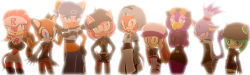 6+girls amy_rose blaze_the_cat blush cosmo cream_the_rabbit crossover marine_the_raccoon multiple_girls nintendo pokemon rouge_the_bat sega shade_the_echidna sonic_the_hedgehog tagme team_aqua team_aqua_(cosplay) team_galactic team_galactic_(cosplay) team_magma team_magma_(cosplay) team_plasma team_plasma_(cosplay) team_rocket team_rocket_(cosplay) tikal_the_echidna wave_the_swallow