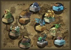 faux_figurine map monster no_humans pixiv_fantasia pixiv_fantasia_4 yamaada