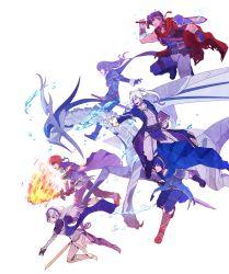 3boys 3girls alternate_form dragon fire_emblem fire_emblem:_akatsuki_no_megami fire_emblem:_fuuin_no_tsurugi fire_emblem:_kakusei fire_emblem:_monshou_no_nazo fire_emblem_if ike kimchikat lucina marth multiple_boys multiple_girls my_unit_(fire_emblem:_kakusei) my_unit_(fire_emblem_if) nintendo roy_(fire_emblem) super_smash_bros.