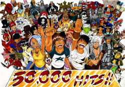 absolutely_everyone afro alcohol alien amazon animal_ears annotated antlers arm_cannon artist_self-insert avatar:_the_last_airbender bandanna bartholomew_kuma baseball_cap beard bell bell_collar billy black_hair blonde_hair blue_eyes blue_hair blue_skin boa_hancock bottle boxing_gloves bra breasts brook brown_hair buggy_the_clown capcom cape captain_falcon captain_falcon_(cosplay) carue cat_ears chanukah_zombie chocolate cigarette cleavage collar cosplay crossover crown cyborg death_note dog dragon_ball dress duskull earrings epaulettes everyone f-zero facial_hair fiery_hair fire fire_emblem fire_emblem:_souen_no_kiseki franky futurama garththedestroyer ghostface ghostface_(cosplay) gir giraffe goggles green_hair green_skin hair_over_one_eye hammer hand_on_shoulder hat helmet hits ike ike_(cosplay) invader_zim jewelry jigglypuff jimbei jyabura kaku_(one_piece) kid_icarus king_dedede king_dedede_(cosplay) kirby kirby_(series) knife kwanzabot l luigi luigi_(cosplay) mario mario_(cosplay) marshall_d_teach mask matsuda_touta metal_gear metal_gear_solid metroid monkey_d_luffy mother_(game) mother_2 multicolored_hair multiple_boys multiple_crossover multiple_girls nami navel nefertari_vivi ness ness_(cosplay) nickelodeon nico_robin nintendo nojiko one_piece optimus_prime orange_hair pandaman piccolo piiman pilman pink_dress pirate_hat pit_(kid_icarus) pit_(kid_icarus)_(cosplay) pokemon pokemon_trainer pokemon_trainer_(cosplay) portgas_d_ace princess princess_peach princess_peach_(cosplay) princess_zelda princess_zelda_(cosplay) red_hair rem robot rockman roronoa_zoro ryuk samus_aran samus_aran_(cosplay) sanji scar scream_(movie) shinigami shy_guy sidoh skull smash_bros smoke smoking solid_snake solid_snake_(cosplay) star_fox stuffed_animal stuffed_toy sunglasses super_mario_bros. super_mario_world super_smash_bros. sword tattoo teddy_bear the_grim_adventures_of_billy_&_mandy the_legend_of_zelda tongue tony_tony_chopper top_hat toph_bei_fong trafalgar_law transformers turban underwear usopp v waldo wally wapol wario wario_(cosplay) wario_land weapon where's_wally white_hair white_skin wolf_o'donnell wolf_o'donnell_(cosplay) yagami_light yellow_eyes yoshi yoshi_(cosplay) zero_suit zombie