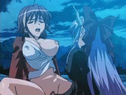 2girls animated animated_gif futa_with_female futanari ma_ga_ochiru_yoru moaning multiple_girls penetration penis pussy sex uncensored vaginal