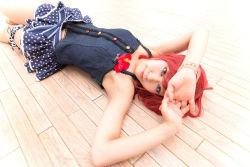 cosplay love_live!_school_idol_project nishikino_maki photo shimotsuki_sato