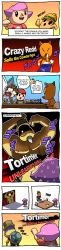absurdres amiibo comic crazy_redd doubutsu_no_mori dragonith highres jojo_pose kid_icarus long_image nachure_(kid_icarus) pit_(kid_icarus) pose super_smash_bros. tall_image viridi