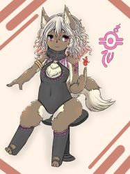 artist_request dog furry long_hair pink_eyes white_hair