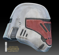 3d artist_request helmet logo official_style original realistic redesign rogue_one:_a_star_wars_story science_fiction star_wars stormtrooper