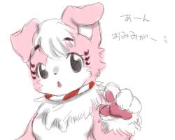 artist_request black_eyes dog furry open_mouth shibasaki_saki