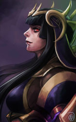 absurdres black_hair fire_emblem fire_emblem:_kakusei highres jaeon009 long_hair red_eyes tharja