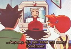 1girl 3boys animated animated_gif computer kasumi_(pokemon) lowres monitor multiple_boys ookido_yukinari pokemon pokemon_(anime) satoshi_(pokemon) subtitled takeshi_(pokemon) tauros