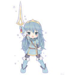 1girl blue_eyes blue_hair fire_emblem fire_emblem:_kakusei long_hair lucina nintendo