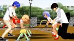 2girls 3d age_difference animated blonde_hair blue_hair flandre_scarlet loli looking_back multiple_girls outdoors penis playground ponchi remilia_scarlet seesaw sex shiny_hair short_hair size_difference tagme testicles touhou uncensored webm