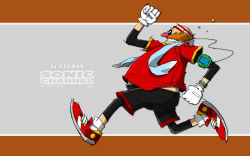 dr._eggman highres official_art running sonic_channel sonic_the_hedgehog tagme