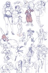 6+boys 6+girls 90s android asamiya_athena baozi belt boots bracelet breasts bruise bun_cover cammy_white capcom character_request chibi chun-li cleavage code_of_princess collage collarbone crossover crown curvy disney double_bun dress earrings edward_fokker emilie_de_rochefort fairy fairy_wings final_fantasy final_fantasy_vii final_fight food goggles goggles_on_head hair_over_one_eye hairpods happy harem_pants hat heart helmet high_heels highres hips hoop_earrings injury jewelry kazama_asuka kicking knee_boots knife link materia medium_breasts midriff monochrome morrigan_aensland multiple_boys multiple_girls namco navel neon_genesis_evangelion nikuman nintendo panties pants peaked_cap peter_pan_(disney) plugsuit poison_(final_fight) power_stone princess_zelda robert_porter rockman rockman_zero rouge_(power_stone) salute sega shoes short_shorts shorts shuriken solange_blanchefleur_de_luxe sonic sonic_the_hedgehog soryu_asuka_langley spiked_bracelet spikes square_enix street_fighter street_fighter_ii tekken the_legend_of_zelda tinker_bell_(disney) underwear vampire_(game) weapon wide_hips wings yuffie_kisaragi zero_(rockman)