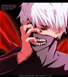 1boy blood kaneki_ken kozureokami20 long_hair red_eyes solo tokyo_ghoul tokyo_ghoul:re