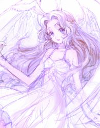 bare_shoulders c_(rahit) code_geass dress nunnally_lamperouge purple_eyes purple_hair