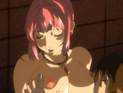 animated animated_gif bible_black bouncing_breasts breast_grab breast_sucking breasts huge_breasts nipples shin_bible_black takashiro_hiroko