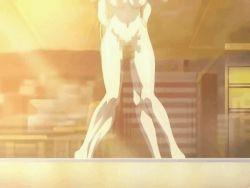 2girls animated animated_gif bouncing_breasts breasts futa_with_female futanari moaning multiple_girls nipples penetration sex yakin_byoutou