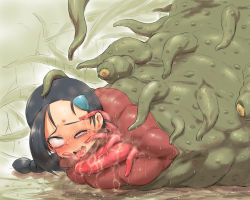 hun pokemon suzuna_(pokemon) tentacle tentacle_rape vore