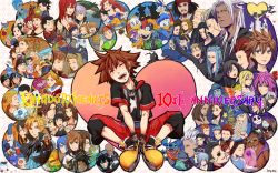 6+boys 6+girls aeleus aerith_gainsborough aladdin_(character) aladdin_(disney) alice_(wonderland) alice_in_wonderland alternate_hairstyle antenna_hair aqua_(kingdom_hearts) ariel_(disney) auron aurora_(disney) axel axel_(kingdom_hearts) bald beard beast_(disney) beauty_and_the_beast belle_(disney) black_hair blonde_hair blue_eyes blue_hair braig brown_hair castle cheshire_cat cid_highwind cinderella cinderella_(disney) cloak clock clock_tower cloud_strife daisy_duck dark_skin demyx dilan disney donald_duck dual_persona elizabeth_swann eric_(disney) even_(kingdom_hearts) eyepatch eyes_closed fa_mulan_(disney) facial_hair facial_mark final_fantasy final_fantasy_ix final_fantasy_vi final_fantasy_vii final_fantasy_viii final_fantasy_x flounder_(the_little_mermaid) flower food fuujin_(ff8) gantu_(disney) genie_(aladdin) gepetto gloves goofy grand_councilwoman_(disney) green_eyes hades_(disney) hair_over_one_eye hayner heartless hercules_(character) hercules_(disney) highres ice_cream ienzo isa_(kingdom_hearts) jack_skellington jack_sparrow jane_porter jasmine_(disney) jiminy_cricket kairi kairi_(kingdom_hearts) king_triton_(disney) kingdom_hearts kingdom_hearts_358/2_days kingdom_hearts_3d_dream_drop_distance kingdom_hearts_birth_by_sleep larxene lea_(kingdom_hearts) lexaeus li_shang_(disney) lilo_&_stitch luxord magic_mirror_(disney) maleficent marluxia master_eraqus master_xehanort megara megara_(disney) merlin_(disney) mickey_mouse minnie_mouse monstro_(disney) moogle mulan multiple_boys multiple_girls mushu_(disney) namine noitigo-fuck notched_ear olette orange_hair palm_tree pegasus_(disney) pence peter_pan peter_pan_(disney) phil_(disney) phillip_(disney) pink_hair pinocchio pinocchio_(character) pirates_of_the_caribbean pluto pointy_ears ponytail prince_charming_(disney) raijin_(ff8) red_hair riku riku_replica rose roxas saix sally_(nbc) scar scrooge_mcduck sebastian_(disney) seifer_almasy selphie_tilmitt sephiroth setzer_gabbiani short_hair sideburns silver_hair sleeping_beauty snow_white_(disney) snow_white_and_the_seven_dwarfs sora_(kingdom_hearts) spoilers squall_leonhart stitch_(lilo_&_stitch) tarzan tarzan_(disney) terra_(kingdom_hearts) the_little_mermaid the_nightmare_before_christmas the_sword_in_the_stone tidus tifa_lockhart tinkerbell tower tree tron tron_(disney) v vanitas ventus vexen vivi_ornitier wakka william_turner_jr. winnie_the_pooh wondernyan wondernyan_(kingdom_hearts) xaldin xehanort xemnas xigbar xion_(kingdom_hearts) yellow_eyes yen_sid younger yuffie_kisaragi zack_fair zexion