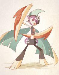 alternate_costume gallade pokemon pokemon_(game) pokemon_oras sally_(yuki-menoko)