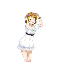 koizumi_hanayo love_live!_school_idol_project official_art see-through tagme