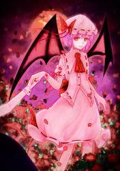 hat highres izayoi_sakuya mob_cap remilia_scarlet wings