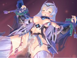android artist_request blush collar cross_section cum cum_in_pussy lilith-soft restrained smile tagme taimanin_asagi_battle_arena torn_clothes vaginal x-ray