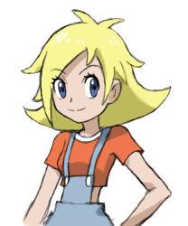 1girl blonde_hair blue_eyes julie_(pokemon) pokemon pokemon_play_it! tagme