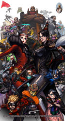 6+boys 6+girls age_difference ahoge ai_rin anniversary annotated arm_strap armor avatar:_the_last_airbender bayonetta bayonetta_(character) bayonetta_2 beard big_bull_crocker black_baron black_hair blacker_baron blonde_hair blue_eyes blue_hair bodysuit bow bowtie brass_knuckles breasts buckle card cereza chainsaw character_request chibi claw_(weapon) company_connection cornrows crossed_arms crossover dark_skin domino_mask dual_wielding durga_(max_anarchy) earrings edgar_oinkie electricity english enzo everyone eyelashes facial_hair feathers finger_on_trigger fingerless_gloves foreshortening fur_trim glasses gloves glowing glowing_eyes goggles goggles_on_head green_hair gun hair_ribbon handgun hat headset helmet highres horns immorta infinite_space jack_cayman jeanne_(bayonetta) jewelry jumping korra legs_apart leonhardt_victorion lips lipstick logo loki_(bayonetta) long_hair looking_at_viewer luka_redgrave madworld makeup mask mathilda mathilda_(madworld) max_anarchy maximillian_caxton metal_gear_(series) metal_gear_rising:_revengeance mole mole_under_mouth mugen_kouro multicolored_hair multiple_boys multiple_girls muscle naga_(avatar) necklace nikolai_dmitri_bulygin official_art open_mouth outstretched_arm pink_skin platinum_games platinumgames_inc. ponytail power_armor purple_hair raiden red_eyes red_lipstick ribbon riding rifle robot rodin sam_gideon senator_armstrong sheath sheathed short_hair side_slit simple_background skull spiked_hair standing streaked_hair sunglasses sunglasses_on_head sword tattoo the_legend_of_korra the_wonderful_101 torn_clothes two-tone_hair vanquish vanquish_(game) very_long_hair weapon white_background white_hair wonder_black wonder_blue wonder_director wonder_green wonder_pink wonder_red wonder_white wonder_yellow yuri_(infinite_space) yuri_(mugen_kouro) zero_(max_anarchy)