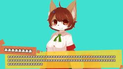 brown_eyes brown_hair chipar dog furry japanese short_hair translation_request