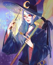 1girl character_request little_witch_academia long_hair solo tagme witch