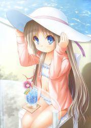 bikini blue_eyes kud_wafter little_busters! loli na-ga noumi_kudryavka