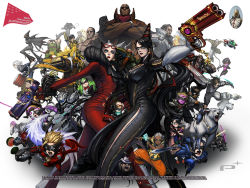 6+boys 6+girls age_difference ahoge ai_rin anniversary arm_strap armor avatar:_the_last_airbender bayonetta bayonetta_(character) bayonetta_2 beard big_bull_crocker black_baron black_hair blonde_hair blue_eyes blue_hair bodysuit bow bowtie brass_knuckles breasts buckle card cereza chainsaw character_request chibi claw_(weapon) company_connection cornrows crossed_arms crossover dark_skin domino_mask dual_wielding durga_(max_anarchy) earrings edgar_oinkie electricity english enzo eyelashes facial_hair feathers finger_on_trigger fingerless_gloves food foreshortening fruit fur_trim glasses gloves glowing glowing_eyes goggles goggles_on_head green_hair gun hair_ribbon handgun hat headset helmet highres horns immorta infinite_space jack_cayman jeanne_(bayonetta) jewelry jumping korra legs_apart leonhardt_victorion lips lipstick logo loki_(bayonetta) long_hair looking_at_viewer luka_redgrave madworld makeup mask mathilda max_anarchy maximillian_caxton metal_gear_(series) metal_gear_rising:_revengeance mole mole_under_mouth mugen_kouro multicolored_hair multiple_boys multiple_girls muscle necklace nikolai_dmitri_bulygin official_art open_mouth outstretched_arm pink_skin platinumgames_inc. ponytail power_armor purple_hair raiden red_eyes red_lipstick ribbon riding rifle robot rodin sam_gideon sheath sheathed short_hair side_slit simple_background skull spiked_hair standing streaked_hair sunglasses sunglasses_on_head sword tattoo the_legend_of_korra the_wonderful_101 torn_clothes two-tone_hair vanquish vanquish_(game) very_long_hair wallpaper watermelon weapon white_background white_hair wonder_black wonder_blue wonder_director wonder_green wonder_pink wonder_red wonder_white wonder_yellow yuri_(mugen_kouro) zero_(max_anarchy)